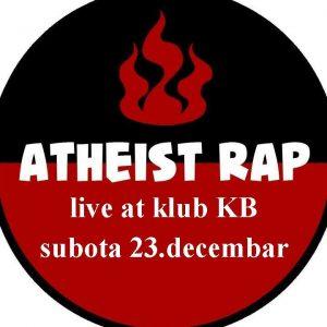 Atheist Rap koncert u klubu KB